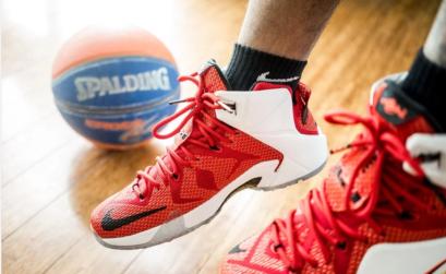 chaussures pour jouer au basket-ball