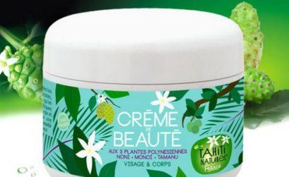 Crème de beauté hydratante Tahiti Naturel