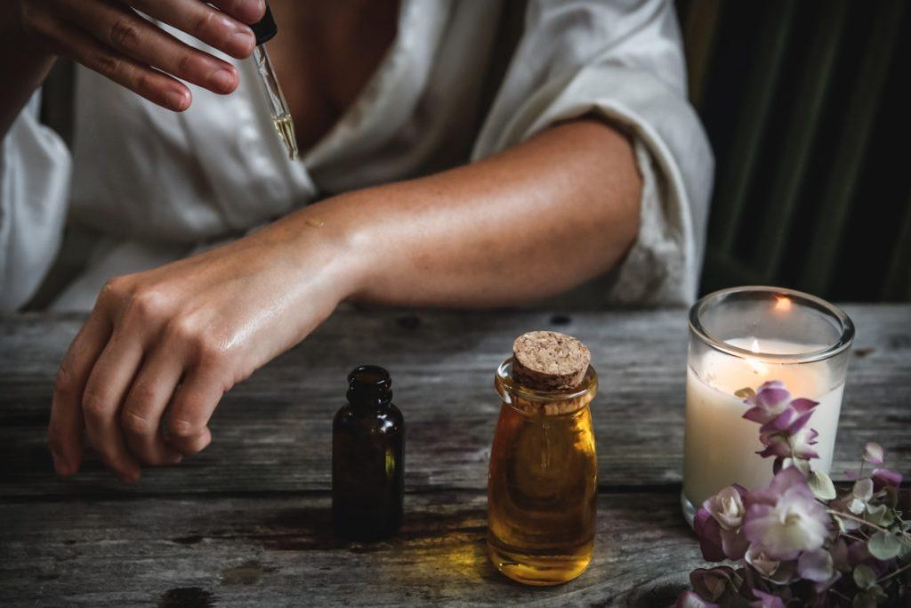 diffusion d'huile essentielle