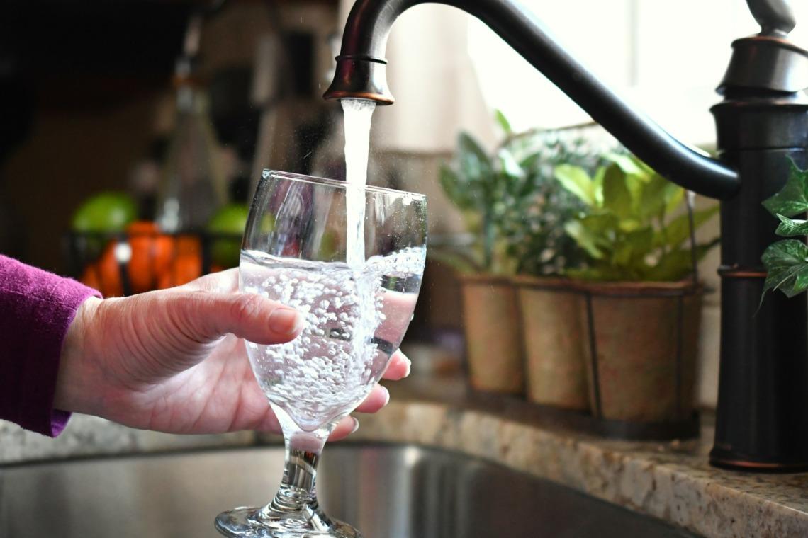 eau en robinet