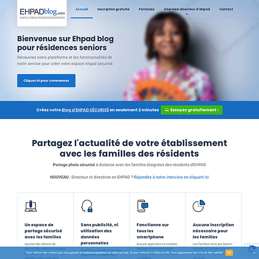 ehpadblog partage prive avec familles