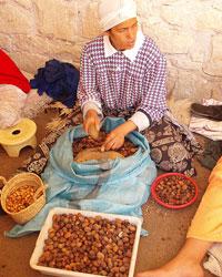 Fabrication de l'huile d'argan bio