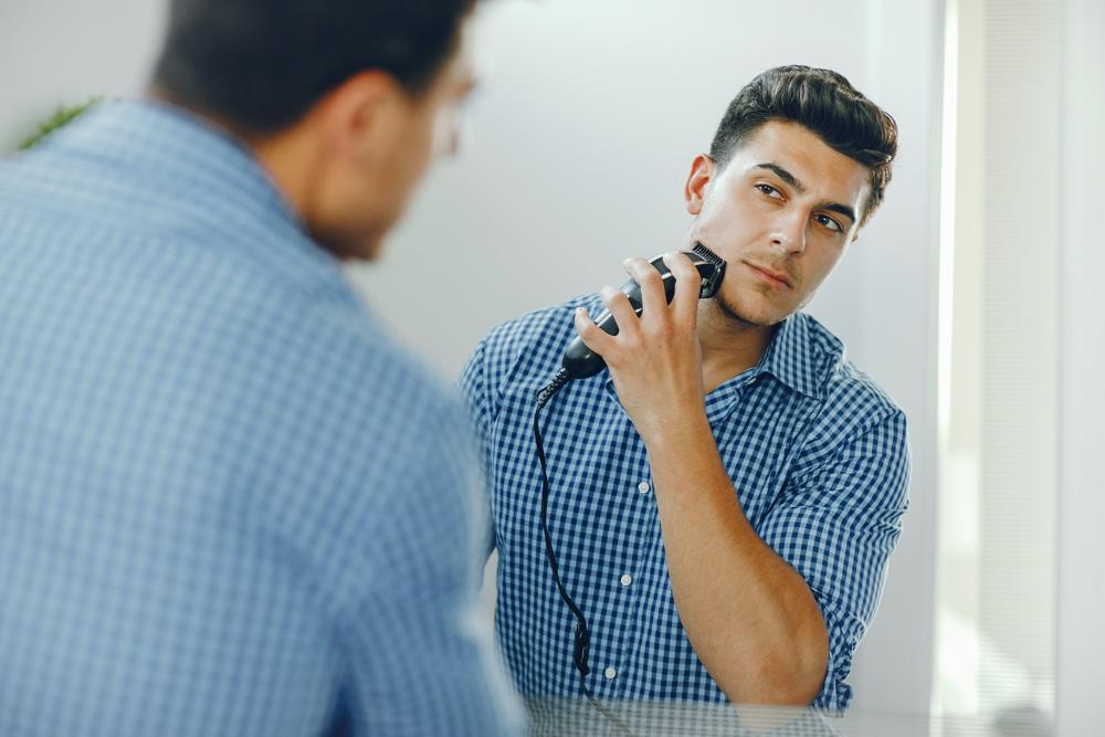 irritation après rasage