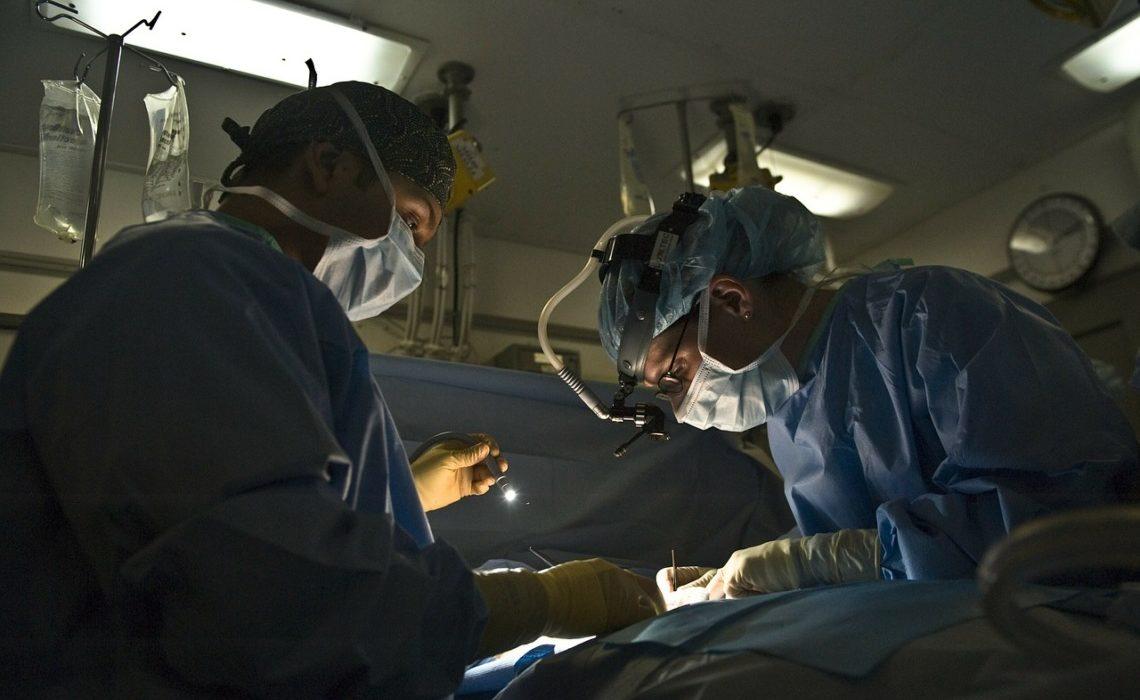 opération de chirurgie