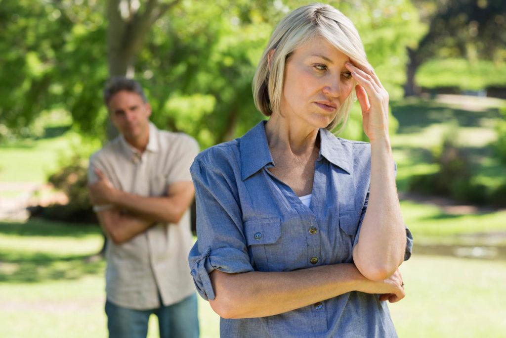 Souffrance d'un divorce